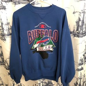Vintage Buffalo Bills NFL Crew Neck Sweatshirt XL